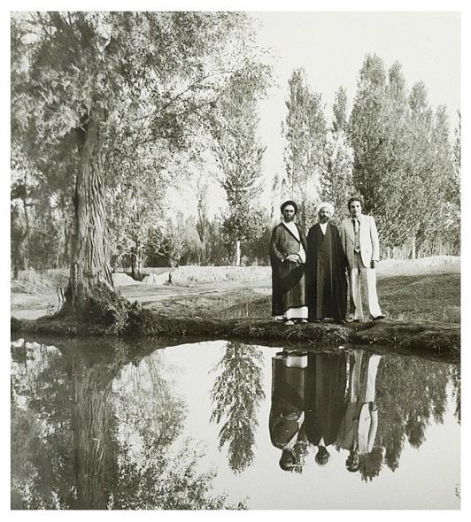 خلیل قبله ای و مرحوم سید جعفر مرقاتی محله قاضی شهرستان خوی