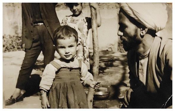 خلیل قبله ای خویی و اولین فرزندش