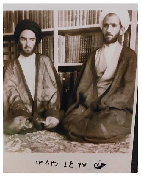 خلیل قبله ای خویی و مرحوم سید جعفر مرقاتی خویی سال 1342